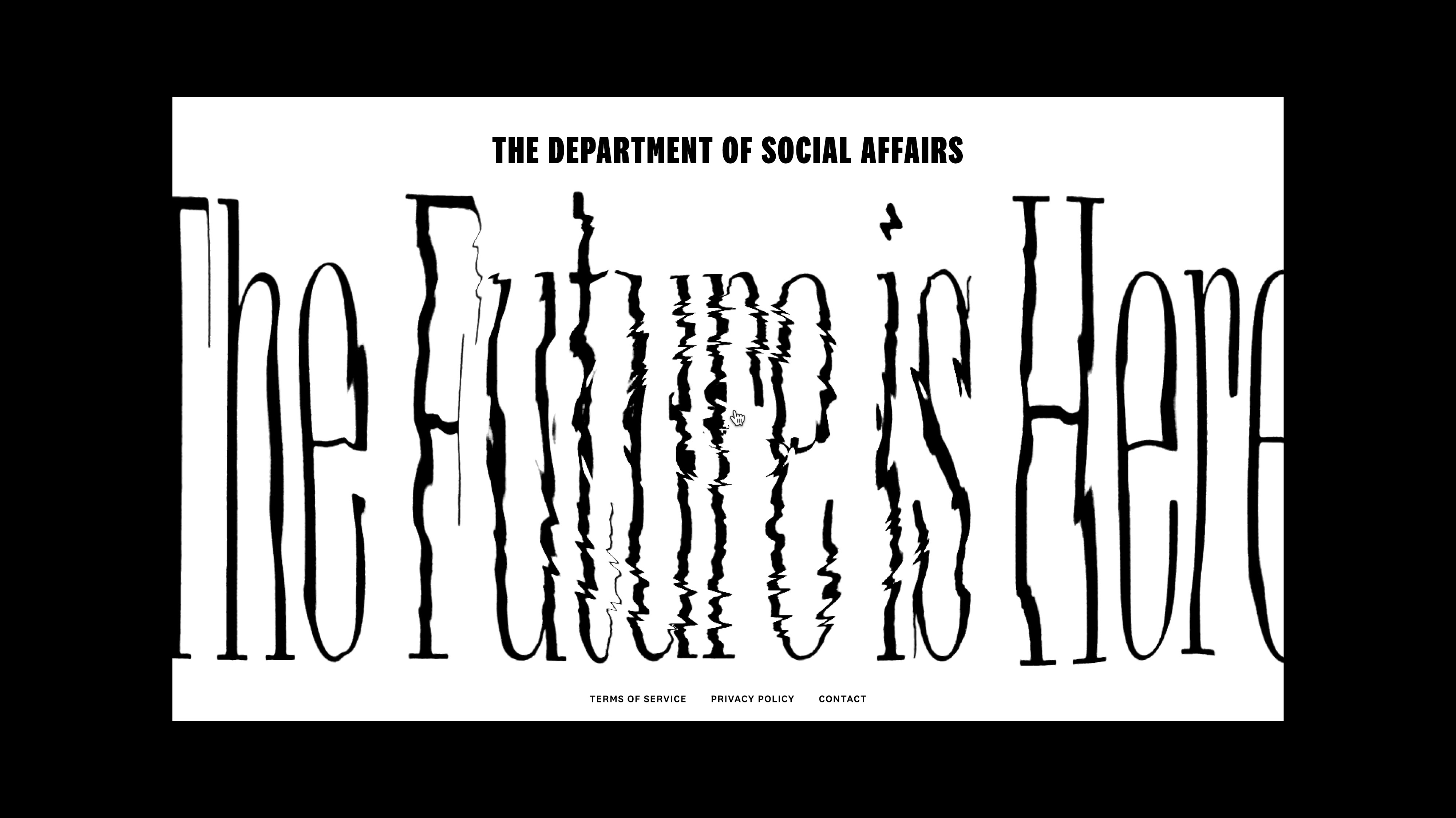 The Department of Social Affairs